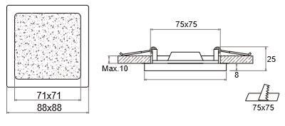 size SUL-DLN0308B